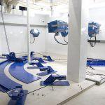 Full-scale crash test facilities