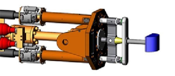 Heavy linear guided impactor