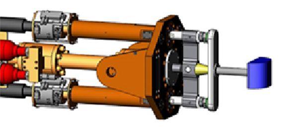 Impactador guiado lineal pesado