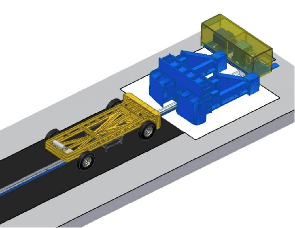 Low-speed-crash-track