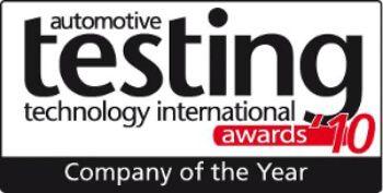 automotive testing technology international awards 2010 company of the year